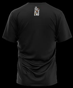 Camiseta Rayo de entresdosuno Negra